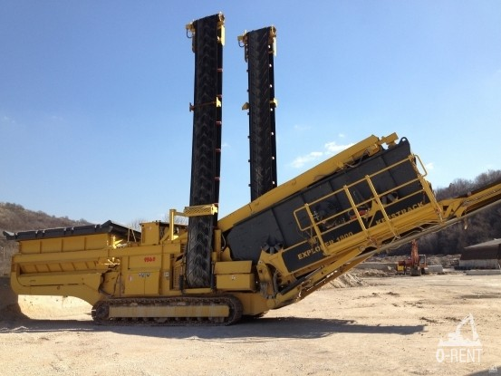 Сито, Капацитет 350 тон/час, Keestrack