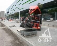 Машинa за полагане на бетонови изделия, дневна произв. 200 м2
